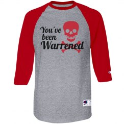 You've been Warrened skull shirt