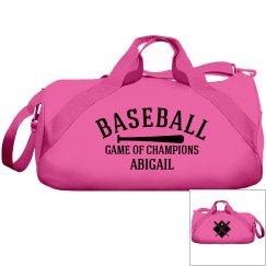 Abigail, Baseball bag