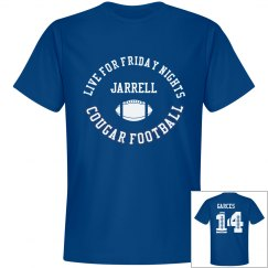 Jarrell Live for Fridays Blue
