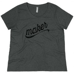 Maker | Women's Curvy Tee