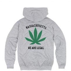 Massachusetts Legalized Pot Hoodie