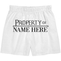 Parody Font Property Of