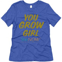 SheNOW YOU GROW GIRL Tee
