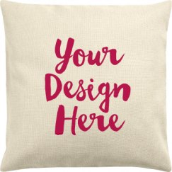 Canvas Pillow Cover
