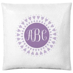 Custom Monogram Little Girl Gift