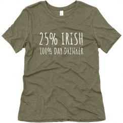 25% Irish