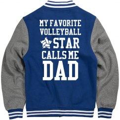 Dad's Favorite Volleyball Star