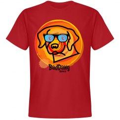 Mens baddawg sunglasses tshirt