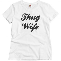Thug Wife Life Graphic Tee