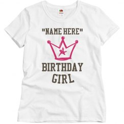 Crown for the birthday girl