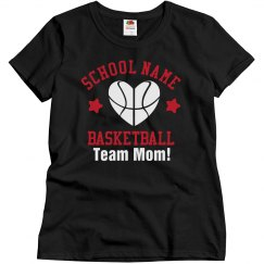 Custom Basketball Mom Shirt