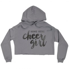 Custom Name Cheer Crop