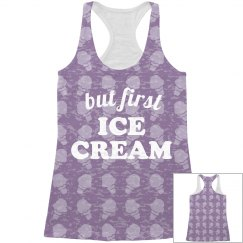But First Ice Cream All Over Print