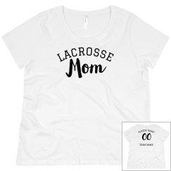 Custom Stylish Lacrosse Mom