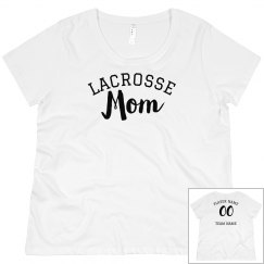 Custom Stylish Lacrosse Mom