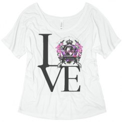 Ladies Flowy Slouchy Tee