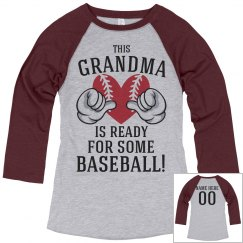 Grandma Is Ready For Baseball