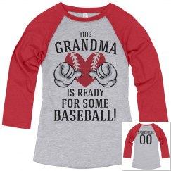 Grandma Is Ready For Baseball