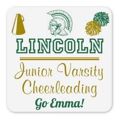 Lincoln Junior Varsity Cheerleading Magnet_Item50C-3