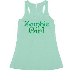 Zombie Girl Tank Top