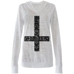 Inverse-cross Sweater