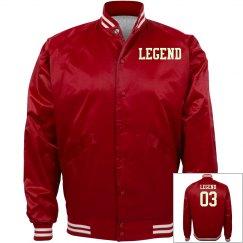 Red legend coat