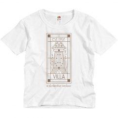Youth Original Villa Line Logo Tee