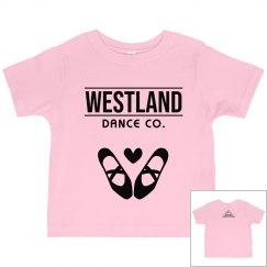 Westland Dance Co. Toddler Tutu tank