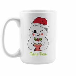 Custom Christmas Friends Right Mug
