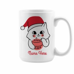 Custom Christmas Friends Left Mug
