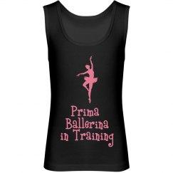 Girls Ballet Shirt