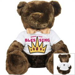 Brown blessing (teddy)
