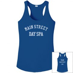TEAM Main Street 2019 Performance Tank