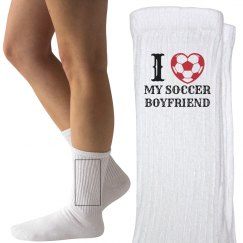 Love my soccer boyfriend