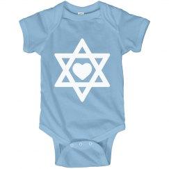 Cute Hanukkah Baby Star