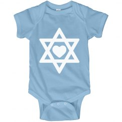Cute Hanukkah Baby Star