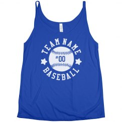 Custom Trendy Baseball Team Tank