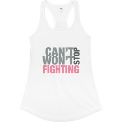 Can't/Won't Stop Fighting