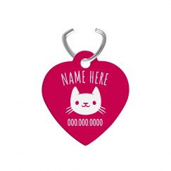 Custom Cutest Cat Tag