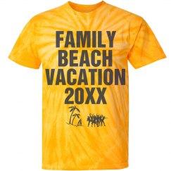 Family Beach Vacation shirt