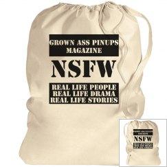 GROWN ASS PINUPS MAGAZINE Laundry Bag