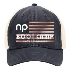 NP BOOT CAMP HAT OPAL ROSE FLAG