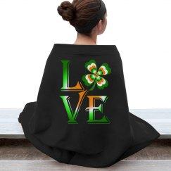 Love Ireland Clover, Pillow