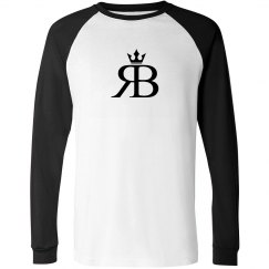 Red Bottoms Long Sleeved -Blk/BlkLogo