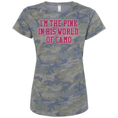 pink in world of camo