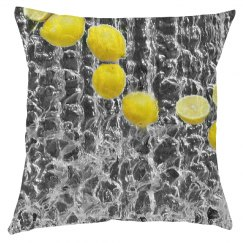 Refreshing lemon pillow