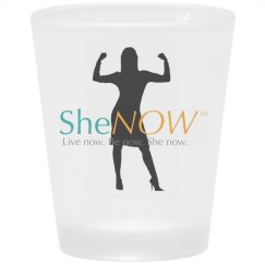 SheNOW Shot Glass