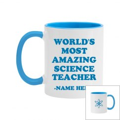 Custom Amazing Science Teacher