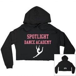 Cropped Hoodie Sweatshirt-Adult