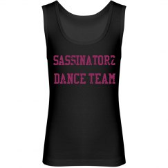 Sassinatorz Dance Team Tank